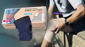 Knee Active Plus stabiliseer plakband voor knieën